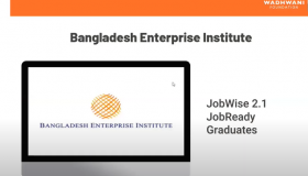 """Announcement of Graduates awarded from BEI on 21st Century's Employability Skills during Wadhwani Foundation's online convocation titled as """"Ready to Rise"""" Summit, 29 May 2021"""