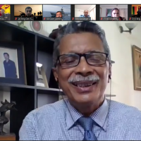 Virtual visit of National Defence Course (NDC)-2021  team to Bangladesh Enterprise Institute (BEI) on 13 July 2021